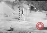 Image of German Aggregat-4 missile Peenemunde Germany, 1942, second 9 stock footage video 65675077972