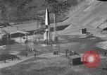 Image of German A-4 missile perfect launch Peenemunde Germany, 1942, second 5 stock footage video 65675077974
