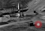 Image of German A-4 missile perfect launch Peenemunde Germany, 1942, second 8 stock footage video 65675077974