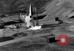 Image of German A-4 missile perfect launch Peenemunde Germany, 1942, second 10 stock footage video 65675077974