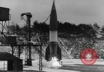 Image of German A-4 missile launched in winter Peenemunde Germany, 1942, second 2 stock footage video 65675077975