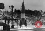 Image of German A-4 missile launched in winter Peenemunde Germany, 1942, second 4 stock footage video 65675077975