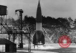 Image of German A-4 missile launched in winter Peenemunde Germany, 1942, second 5 stock footage video 65675077975