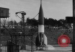 Image of German A-4 missile Peenemunde Germany, 1942, second 1 stock footage video 65675077976