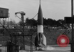Image of German A-4 missile Peenemunde Germany, 1942, second 2 stock footage video 65675077976