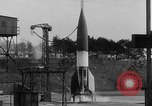 Image of German A-4 missile Peenemunde Germany, 1942, second 3 stock footage video 65675077976