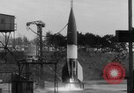 Image of German A-4 missile Peenemunde Germany, 1942, second 4 stock footage video 65675077976