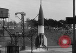 Image of German A-4 missile Peenemunde Germany, 1942, second 6 stock footage video 65675077976