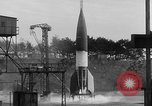 Image of German A-4 missile Peenemunde Germany, 1942, second 7 stock footage video 65675077976