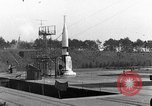 Image of German A-4 missile Peenemunde Germany, 1942, second 1 stock footage video 65675077985