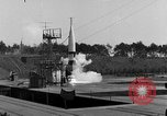 Image of German A-4 missile Peenemunde Germany, 1942, second 2 stock footage video 65675077985