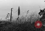 Image of German A-4 missile Peenemunde Germany, 1942, second 1 stock footage video 65675077987