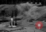 Image of German A-4 missile launched from pit Peenemunde Germany, 1942, second 1 stock footage video 65675077989