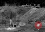 Image of German A-4 missile launched from pit Peenemunde Germany, 1942, second 3 stock footage video 65675077989
