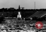 Image of German A-4 missile Peenemunde Germany, 1942, second 2 stock footage video 65675077992