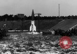 Image of German A-4 missile Peenemunde Germany, 1942, second 4 stock footage video 65675077992