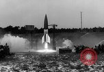 Image of German A-4 missile Peenemunde Germany, 1942, second 9 stock footage video 65675077992