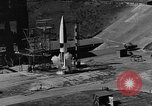 Image of German A-4 missile Peenemunde Germany, 1942, second 1 stock footage video 65675077993