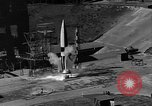 Image of German A-4 missile Peenemunde Germany, 1942, second 2 stock footage video 65675077993