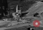 Image of German A-4 missile Peenemunde Germany, 1942, second 3 stock footage video 65675077993