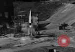 Image of German A-4 missile Peenemunde Germany, 1942, second 4 stock footage video 65675077993