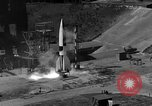 Image of German A-4 missile Peenemunde Germany, 1942, second 5 stock footage video 65675077993
