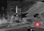 Image of German A-4 missile Peenemunde Germany, 1942, second 6 stock footage video 65675077993