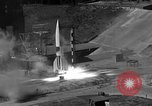 Image of German A-4 missile Peenemunde Germany, 1942, second 7 stock footage video 65675077993