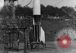Image of German A-4 missile Peenemunde Germany, 1942, second 9 stock footage video 65675078001