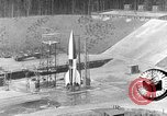Image of German A-4 missile Peenemunde Germany, 1942, second 1 stock footage video 65675078003