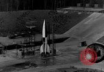 Image of German A-4 missile Peenemunde Germany, 1942, second 2 stock footage video 65675078003
