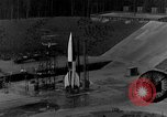 Image of German A-4 missile Peenemunde Germany, 1942, second 5 stock footage video 65675078003