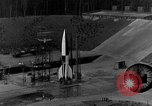 Image of German A-4 missile Peenemunde Germany, 1942, second 6 stock footage video 65675078003