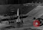 Image of German A-4 missile Peenemunde Germany, 1942, second 9 stock footage video 65675078003