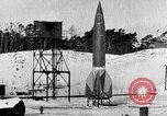 Image of German A-4 missile Peenemunde Germany, 1942, second 2 stock footage video 65675078004