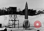 Image of German A-4 missile Peenemunde Germany, 1942, second 3 stock footage video 65675078004