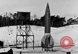 Image of German A-4 missile Peenemunde Germany, 1942, second 4 stock footage video 65675078004