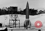Image of German A-4 missile Peenemunde Germany, 1942, second 5 stock footage video 65675078004