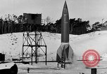 Image of German A-4 missile Peenemunde Germany, 1942, second 6 stock footage video 65675078004