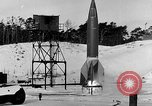 Image of German A-4 missile Peenemunde Germany, 1942, second 7 stock footage video 65675078004