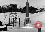 Image of German A-4 missile Peenemunde Germany, 1942, second 8 stock footage video 65675078004