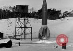 Image of German A-4 missile Peenemunde Germany, 1942, second 9 stock footage video 65675078004