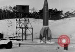 Image of German A-4 missile Peenemunde Germany, 1942, second 10 stock footage video 65675078004