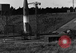 Image of unstable camera closeup of German A-4 missile launch Peenemunde Germany, 1942, second 3 stock footage video 65675078011