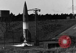 Image of unstable camera closeup of German A-4 missile launch Peenemunde Germany, 1942, second 6 stock footage video 65675078011