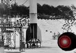 Image of A-4 missile Peenemunde Germany, 1942, second 5 stock footage video 65675078012