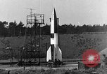 Image of A-4 missile Peenemunde Germany, 1942, second 1 stock footage video 65675078013