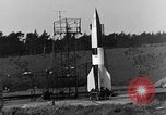 Image of A-4 missile Peenemunde Germany, 1942, second 2 stock footage video 65675078013