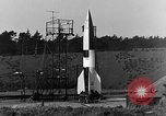 Image of A-4 missile Peenemunde Germany, 1942, second 4 stock footage video 65675078013