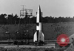 Image of A-4 missile Peenemunde Germany, 1942, second 5 stock footage video 65675078013